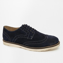brogue asos suede