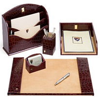 chairman desk set