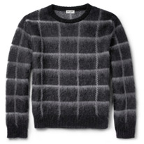 checked porter sweaters