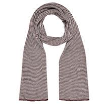 cream rib scarf