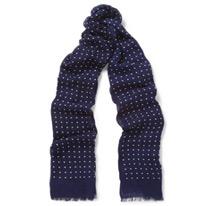 drakes model scarfs