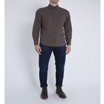 marl brushed shirt