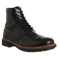 astroid black brogues