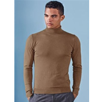 brown rollneck