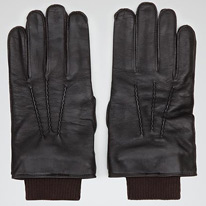 cuffed gloves