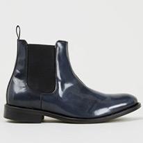 manuel navy boots