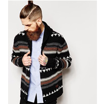 alpha khaki shawl