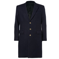 ami black overcoat