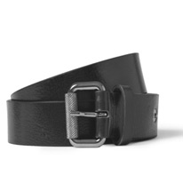 black 3cm belts