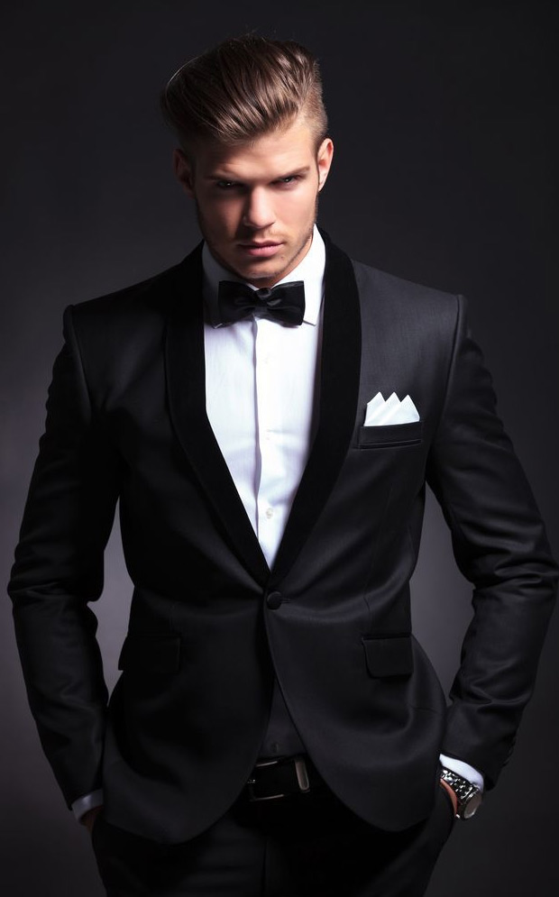 How To Master The Black Tie Look | Mens Fashion Magazine