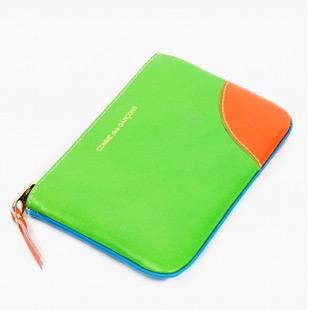 fluoro coin folder