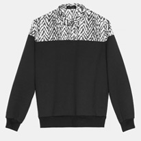 hybrid black sweatshirt