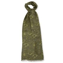 green tonal scarfs