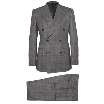 kingsman checked suit