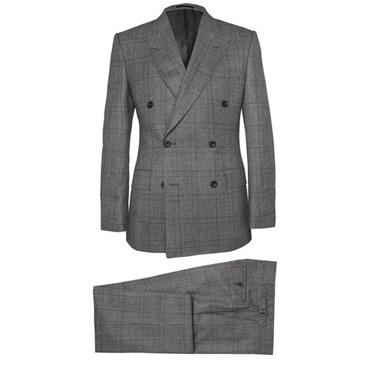 kingsman checked suit