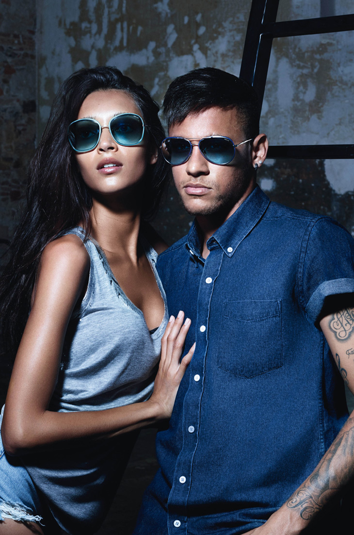 police launch 2015 eyewear campaign featuring footballer