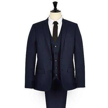 skinny blue jacket