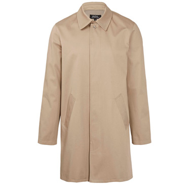 beige cotton coats