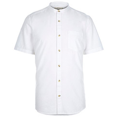 sleeved grandad shirt