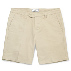 twilled shorts
