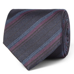 brioni striped tie