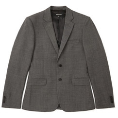 fitted wool blazers
