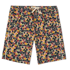 folk leaf shorts