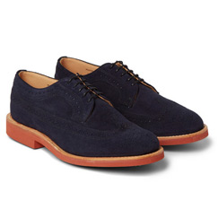 mark suede brogues