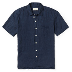 spencer linen shirt
