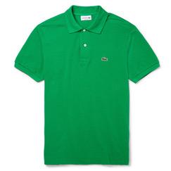 green polo tee