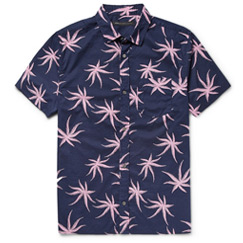 palm poplin shirt