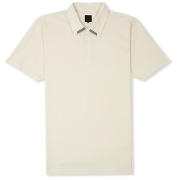 lux polo tee