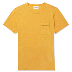 spencer yellow tee