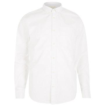 twill collared shirt