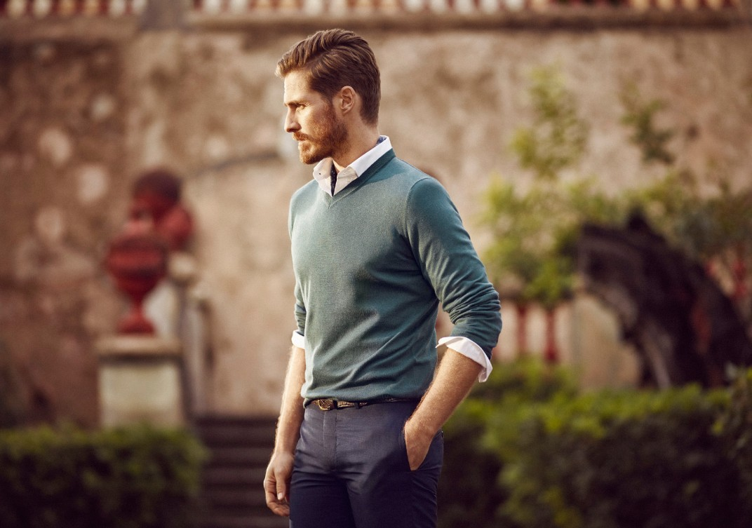 dealing with colour mens fashion