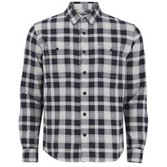 black checked sleeves