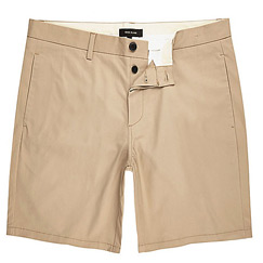brown chino shorts