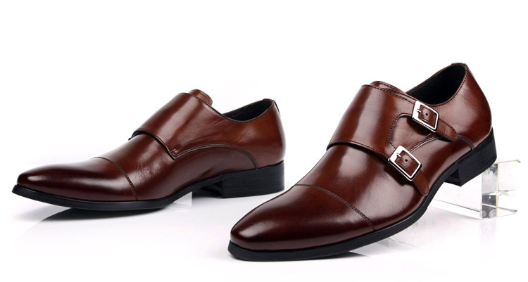 Double-monk-strap-shoes