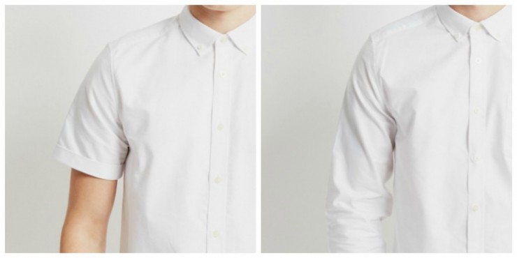 mens white oxford shirt