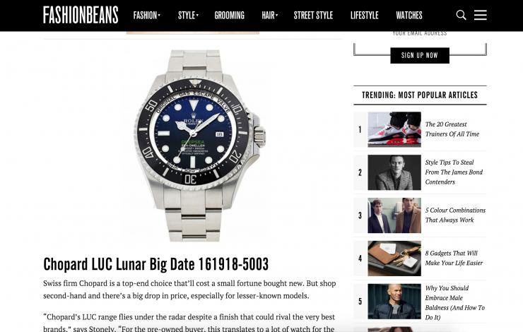 fashionbeans ebay research