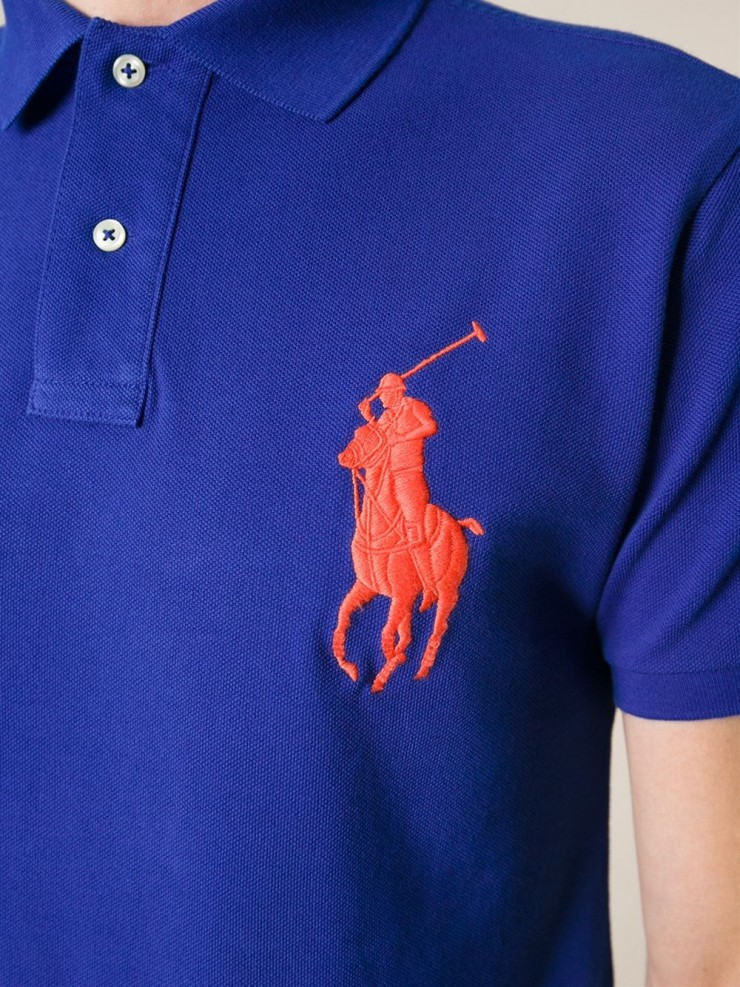 oversized ralph lauren polo