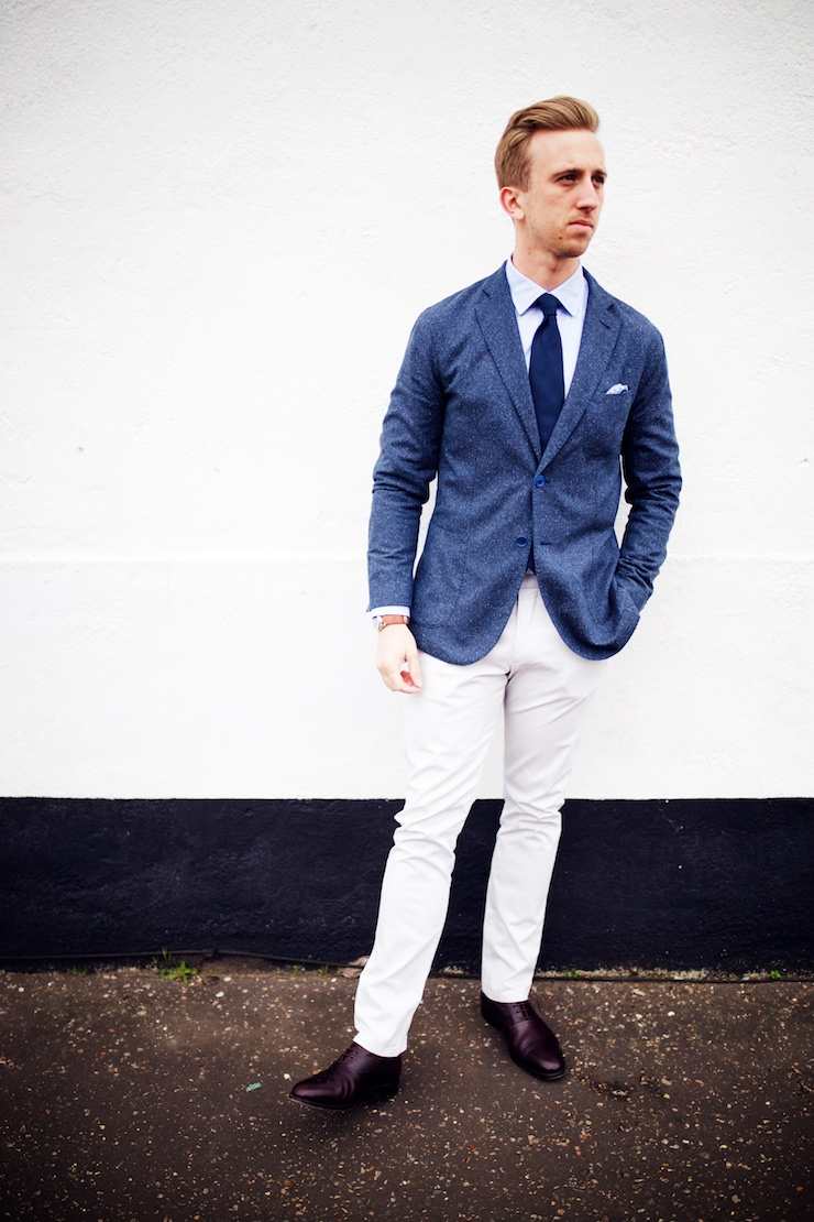 smart blazer outfit