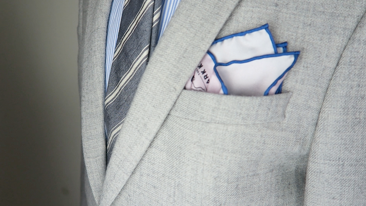 dandy pocket square fold