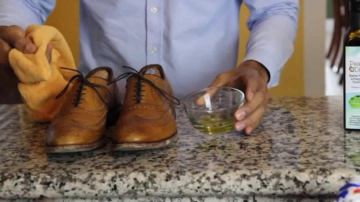 olive oil shoes
