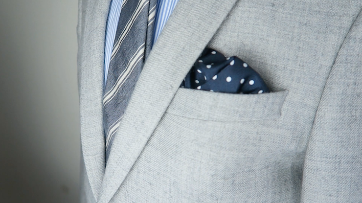 puff pocket square