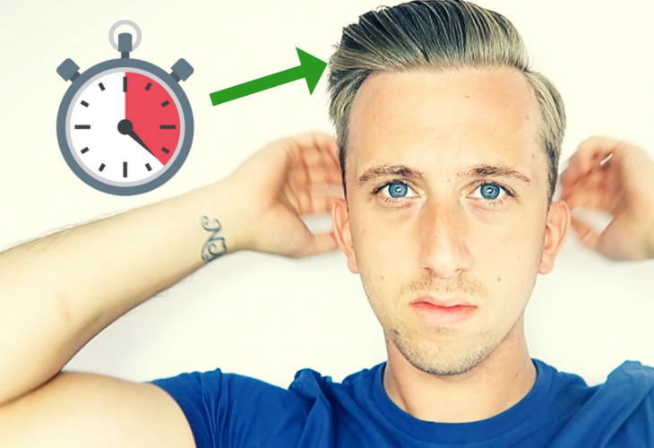 How To Save Time On Your Hairstyle Mens Fashion Magazine
