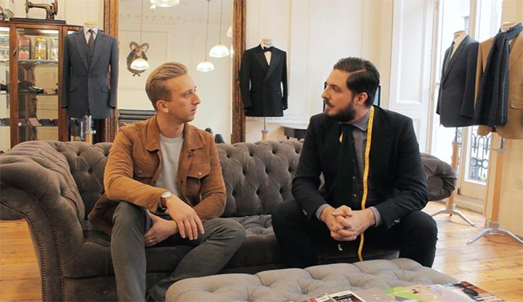 savile row tailoring experience