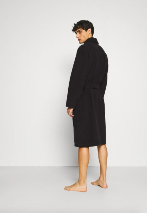Lyle And Scott Navy Lucas Dressing Gown