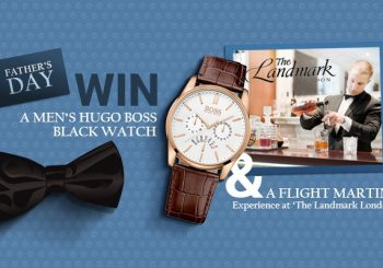 Fathers Day Competition – Win A Hugo Boss Watch