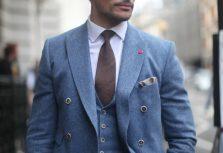 David Gandy Three Piece Suit